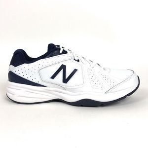 New Balance 409 White Athletic Shoes D MX409WN3